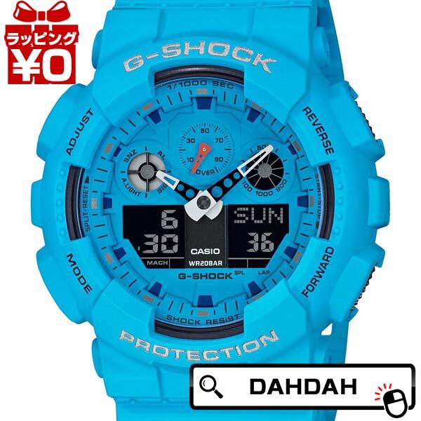 ホット ロックサウンド GA-100RS-2AJF G-SHOCK Gショック ジーショック CASIO カシオ メンズ 腕時計 国内正規品 送料無料