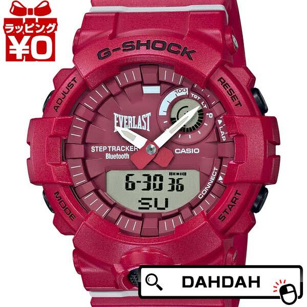EVERLAST TIEUP GBA-800EL-4AJR G-SHOCK Gショック ジーショック CASIO カシオ メンズ 腕時計 国内正規品 送料無料