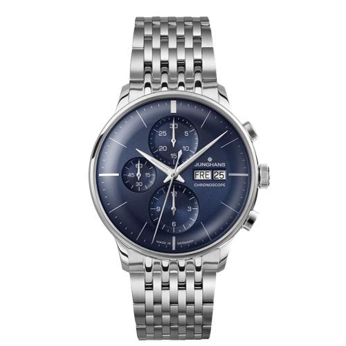 クロノスコープ 027 4528.44 Junghans 送料込 Meister ユンハンスマイスター メンズ 商舗 国内正規品 腕時計 ブランド クーポン利用で10%OFF 送料無料 プレゼント
