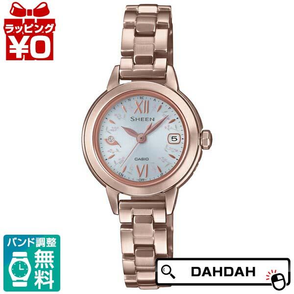 電波ソーラー SHW-5200CG-7AJF CASIO カシオ SHEEN シーン レディース 腕時計 国内正規品 送料無料
