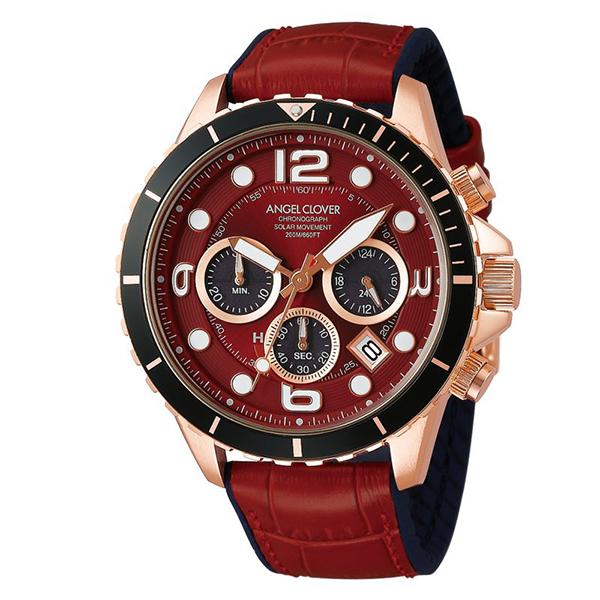 【クーポン利用で10%OFF】タイムクラフト ダイバー TCD45PRE-RE Angel Clover エンジェルクローバー メンズ 腕時計 国内正規品 送料無料