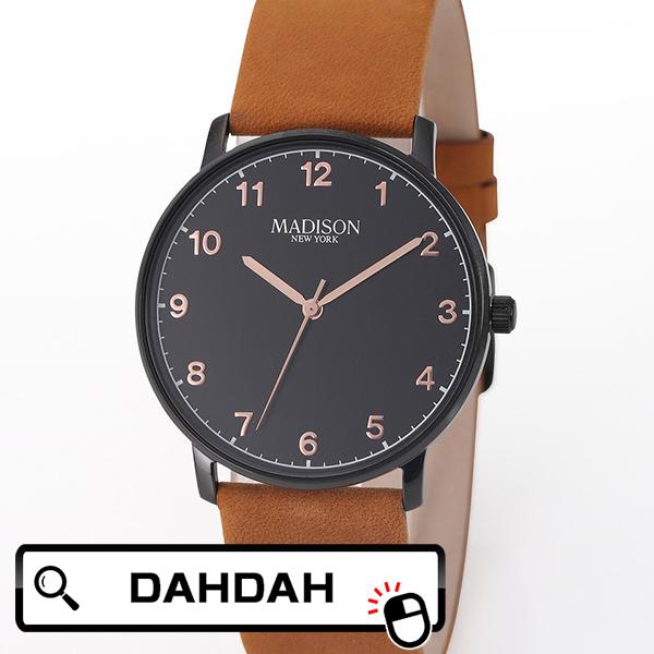 MADISON 特価品コーナー☆ NEW YORK マディソン ニューヨーク 送料無料 腕時計 G4940A3 メンズ 国内正規品 注文後の変更キャンセル返品