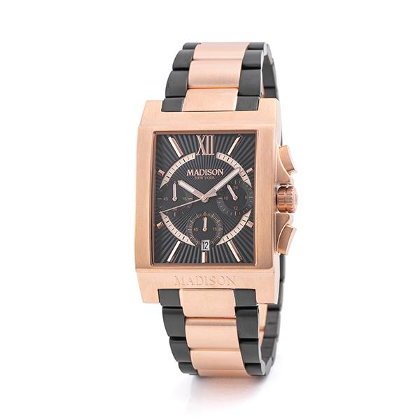 MA011006-5 スーパーセール期間限定 マディソン ニューヨーク ショップ MADISON NEW メンズ 国内正規品 送料無料 YORK 腕時計