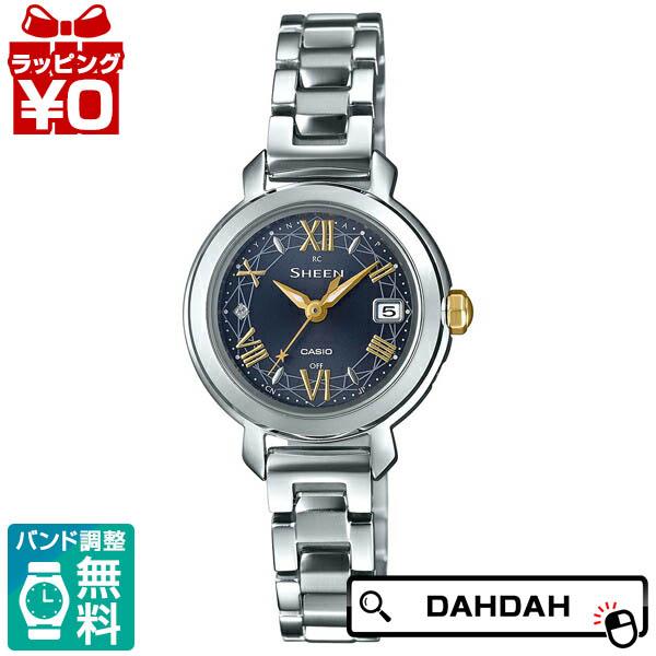 タフソーラー 電波修正 シルバー SHW-5300D-2AJF SHEEN シーン CASIO カシオ レディース 腕時計 国内正規品 送料無料