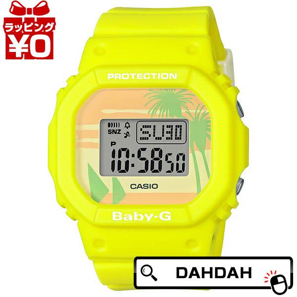Baby-G ベイビージー ベビージー CASIO カシオ ビーチ カラーズ 2020A W新作送料無料 レディース 国内正規品 イエロー ブランド 送料無料 BGD-560BC-9JF 定価 腕時計