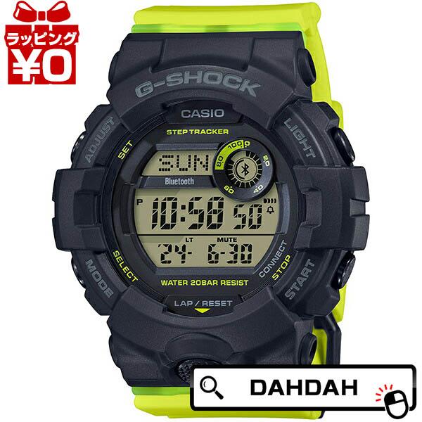 G-SHOCK ジーショック gshock Gショック CASIO カシオ ミッドサイズ イエロー 贈答 メンズ 中古 GMD-B800SC-1BJF ブランド 腕時計 国内正規品 ブラック 送料無料