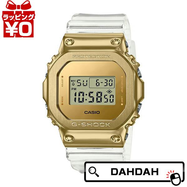 ゴールド メタルベゼル スケルトン GM-5600SG-9JF CASIO カシオ G-SHOCK ジーショック Gショック 送料無料カード決済可能 g-ショック gshock 腕時計 メンズ 国内正規品 送料無料 SALE