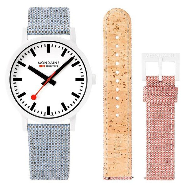 【クーポン利用で10%OFF】essence エッセンス フェルト MS1.41110.LD MONDAINE モンディーン スイス国鉄時計 メンズ 腕時計 国内正規品 送料無料