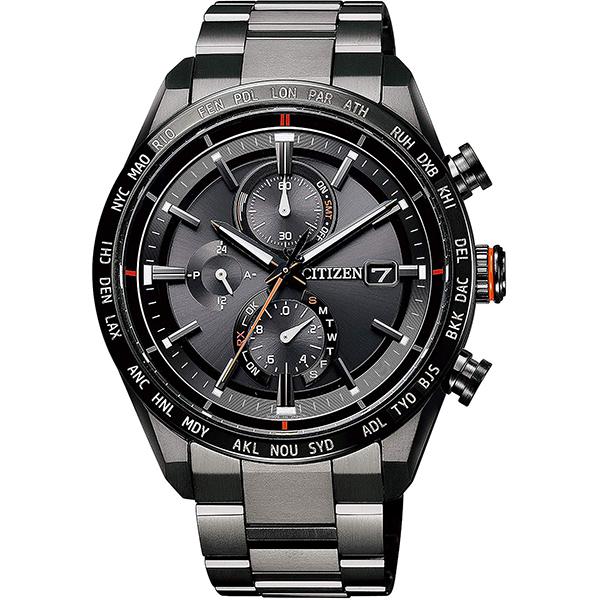 【クーポン利用で10%OFF】エコドライブ 電波時計 AT8185-62E ATTESA アテッサ CITIZEN シチズン メンズ 腕時計 国内正規品 送料無料