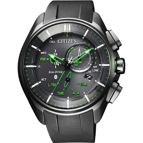【クーポン利用で10%OFF】Bluetooth 黒 緑 チタン ブラック グリーン BZ1045-05E エコ・ドライブ Bluetooth CITIZEN シチズン メンズ 腕時計 国内正規品 送料無料