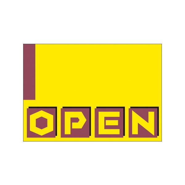 【取寄商品】フロアーマット「OPEN」(玄関マット)