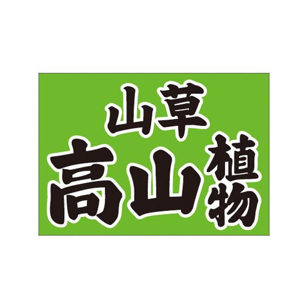 【取寄商品】フロアーマット「高山植物」(玄関マット)