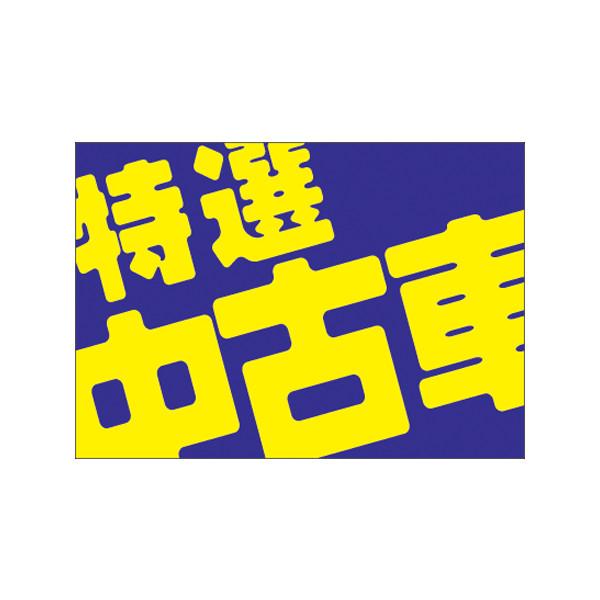 【取寄商品】フロアーマット「特選中古車」(玄関マット)