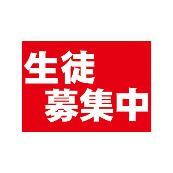 【取寄商品】フロアーマット「生徒募集中」(玄関マット)