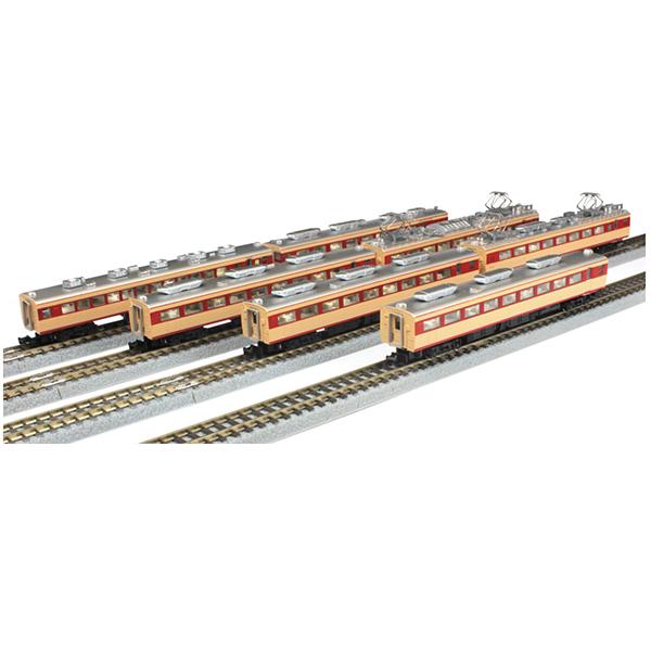 鉄道 鉄道模型 車両 国鉄485系特急形車両 初期型 ひばり 国鉄色 7両増結セット