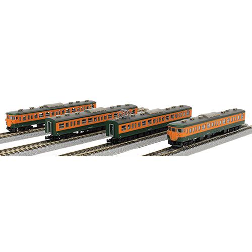 鉄道 鉄道模型 車両 国鉄113系 2000番代 湘南色 4両基本セット