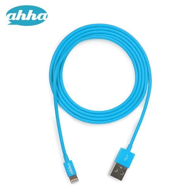 充電ケーブル iphone ストアー ipad Lightning Cable ahha 再入荷 予約販売 Apple Blue 用 通信 充電 Donutstring 1.2m