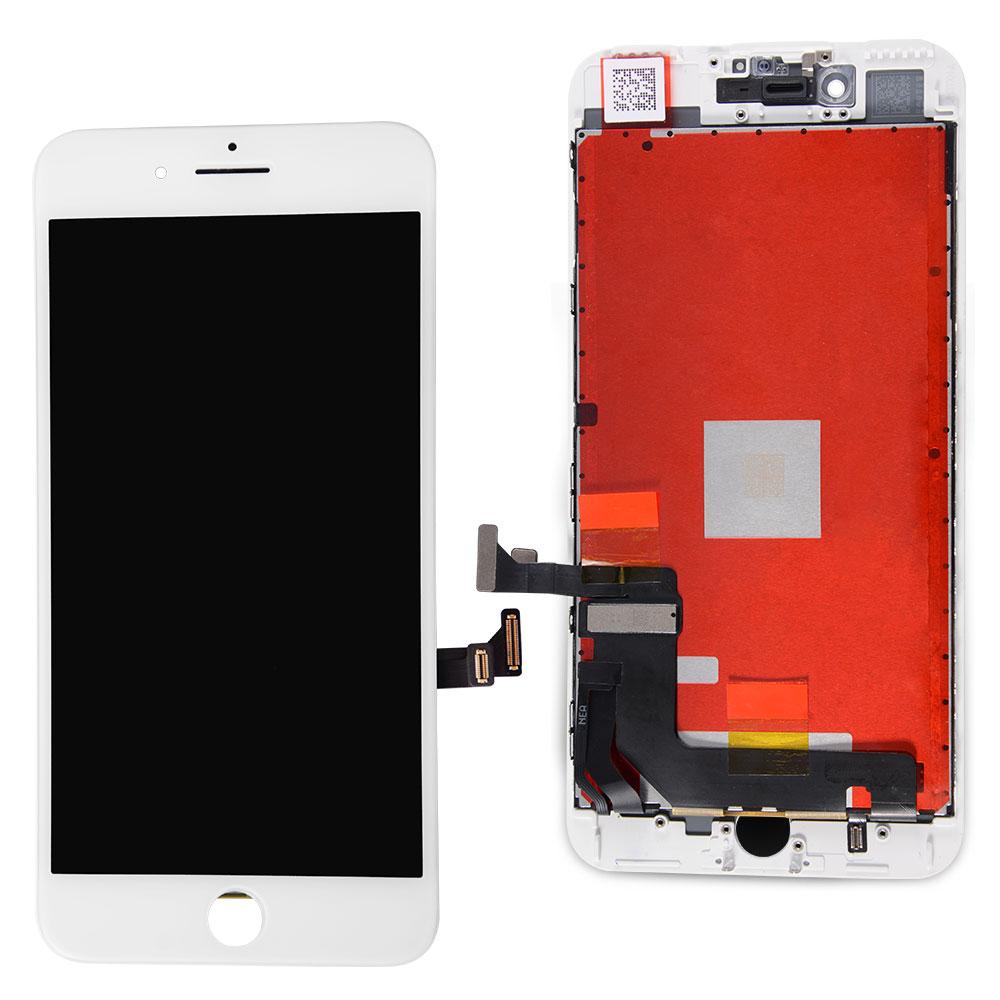 【iPhone7Plus互換品】高品質フロントパネル(液晶・ガラスセット) ホワイト 白 ブラック 黒【スマホ修理部品】