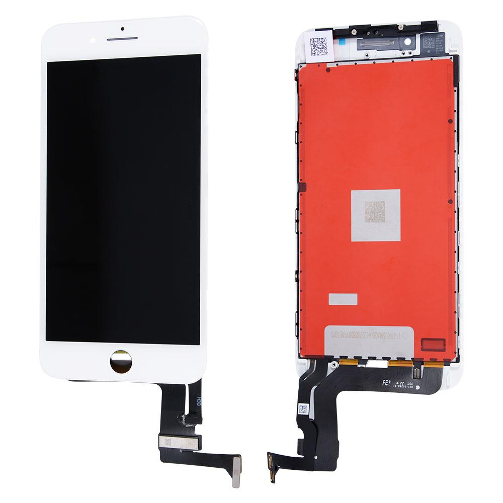 【iPhone8Plus互換品】高品質フロントパネル(液晶・ガラスセット) ホワイト 白 ブラック 黒【スマホ修理部品】