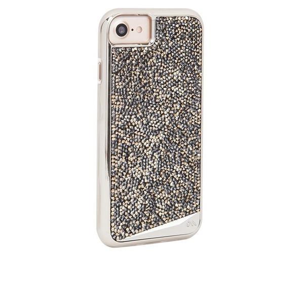 iPhoneSE 8 7 ケース 6s 6 カバー Case-Mate ケースメート 耐衝撃 高級感 水晶 プレミアムケース Brilliance Case Champagne ブリリアンス ケース シャンパン ゴージャス