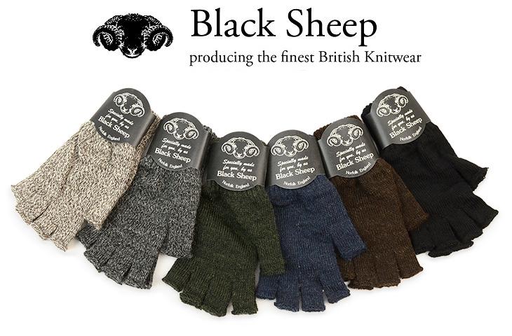 Gochi Black Sheep Black Sheep Fingerless Glove And Wool Knit
