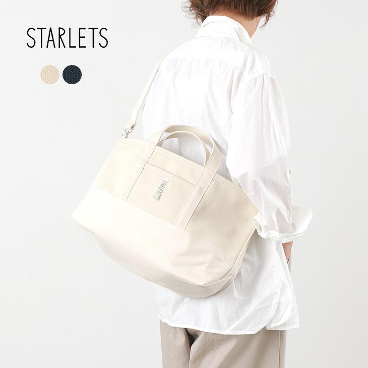【最大15%OFFクーポン対象】STARLETS(スターレッツ) 2way ショルダーバッグ / トートバッグ / 帆布 / レディース メンズ / 日本製 / 2WAY SHOULDER TOTE BAG