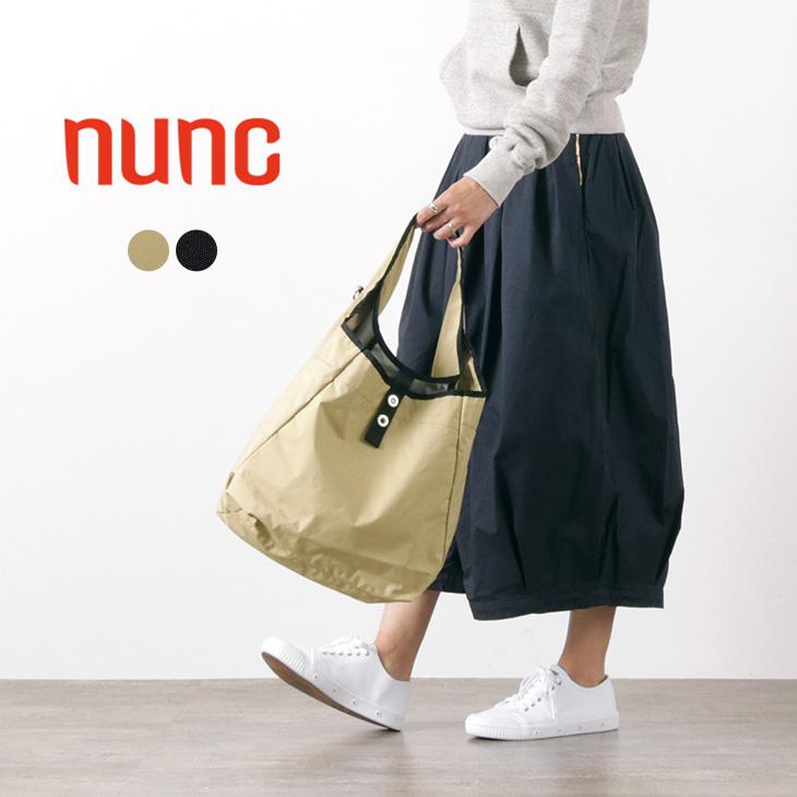 正規品送料無料 ショッピングバッグを都会的に NUNC ヌンク スーパーマーケット トートバッグ ショルダーバッグ Supermarket 当店一番人気 軽量 2WAY