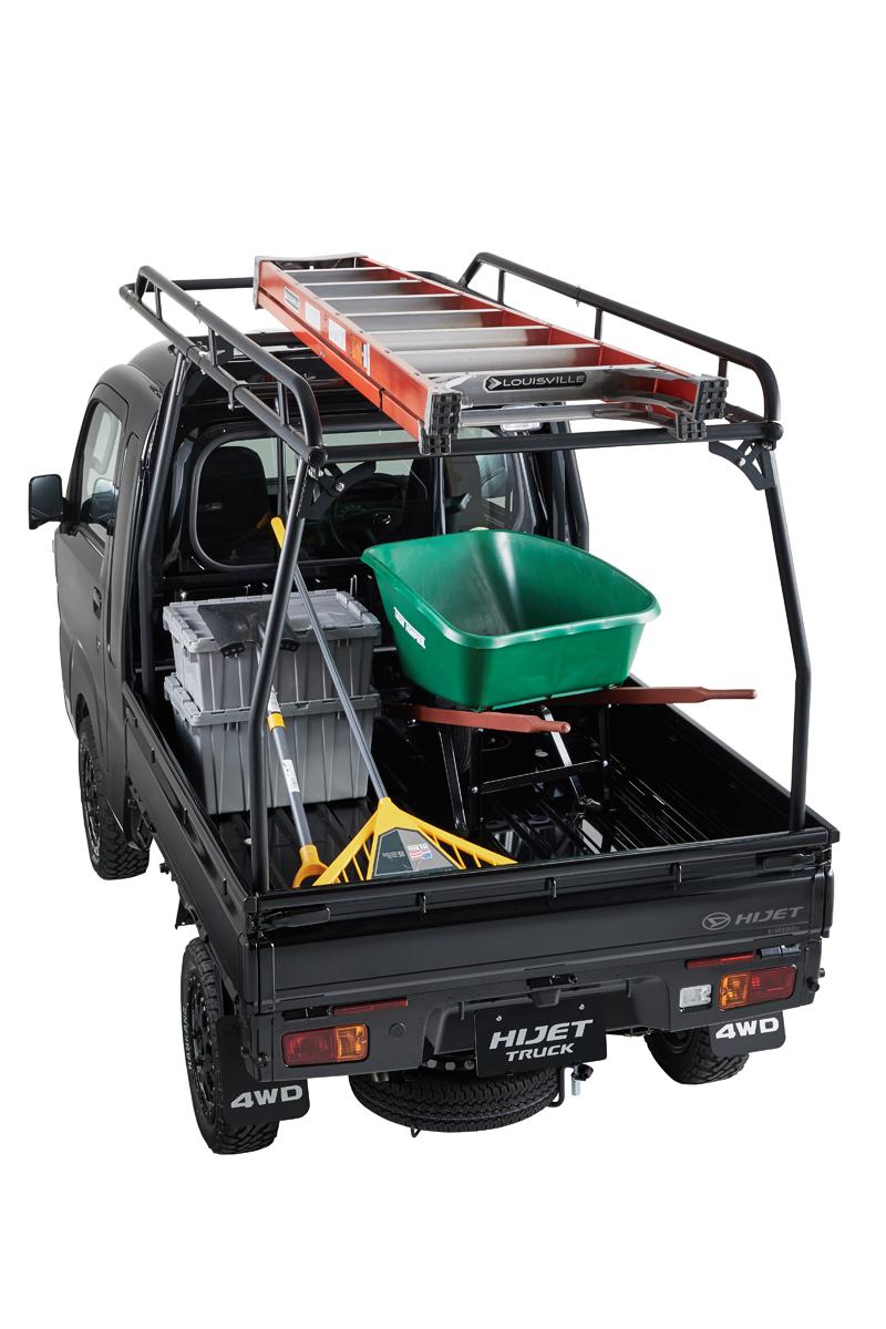 ダイハツ DAIHATSU ハイゼットトラック(ジャンボ)専用 キャリア ダイハツビジネスサポートセンター コラボモデル