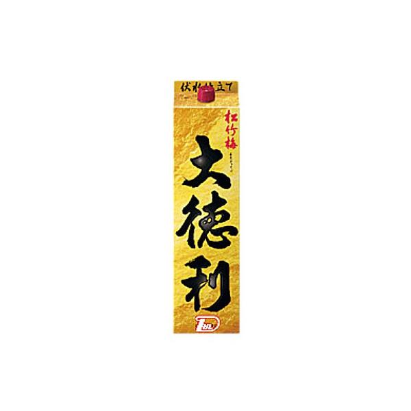 【送料無料2ケース】松竹梅 大徳利 宝酒造 3L(3000ml) パック 4本入★北海道、沖縄のみ別途送料が必要となります
