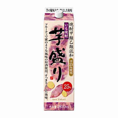 送料無料1ケース 驚きの値段で 芋盛り 〈芋〉 25度 与え 合同酒精 1.8L 6本入 1800ml 北海道 パック 沖縄のみ別途送料が必要となります