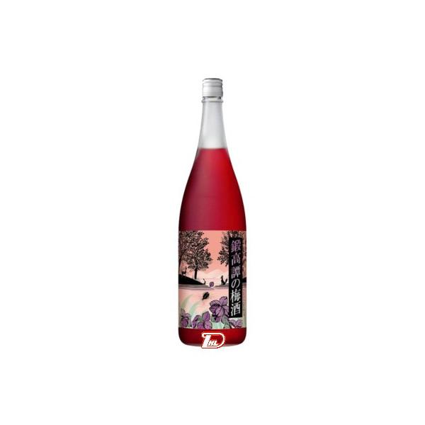 【送料無料1ケース】鍛高譚の梅酒 合同酒精 1.8L(1800ml) 瓶 6本入り