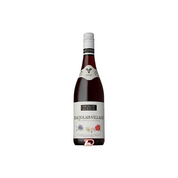 【送料無料1ケース】ジョルジュ デュブッフ ボジョレー ヴィラージュ 750ml瓶 12本入(ケース売り)