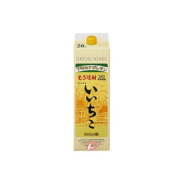 【送料無料2ケース】いいちこ 麦 20度 三和酒類 1.8L (1800ml) パック 12本入★北海道、沖縄のみ別途送料が必要となります