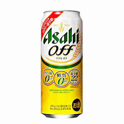 【送料無料2ケース】アサヒ オフ 500ml缶 24本×2★北海道、沖縄のみ別途送料が必要となります