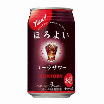 【送料無料3ケース】ほろよい コーラサワー サントリー 350ml缶 24本×3★北海道、沖縄のみ別途送料が必要となります