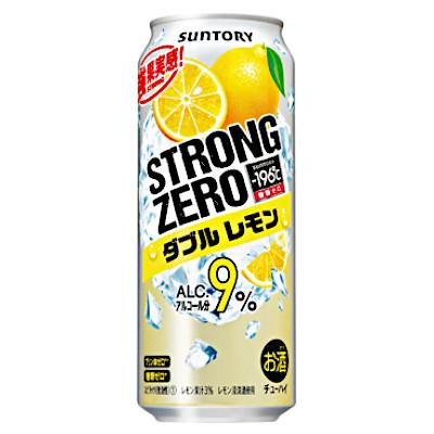 【送料無料2ケース】-196℃ ストロングゼロ ダブルレモン サントリー 500ml缶 24本入×2★北海道、沖縄のみ別途送料が必要となります