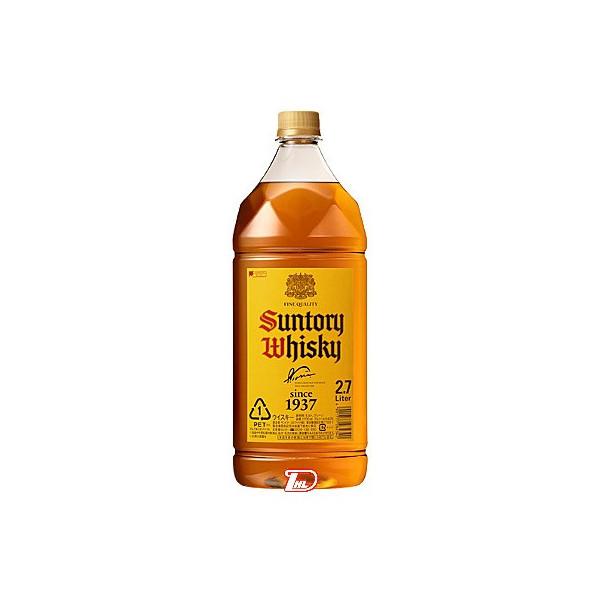【送料無料1ケース】サントリー 角瓶 2.7L(2700ml) ペット 6本入り