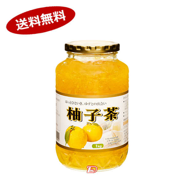 【送料無料1ケース】柚子茶 大同 1kg 12個入★北海道、沖縄のみ別途送料が必要となります