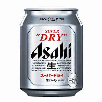 【3ケース】アサヒ スーパードライ 250ml缶 24本×3