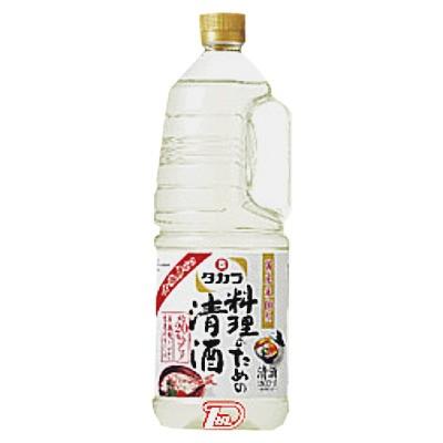 【2ケース】料理のための清酒 宝酒造 1.8L(1800ml) ペット 6本×2