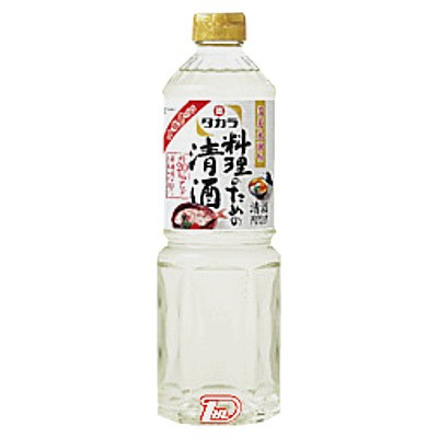 【2ケース】料理のための清酒 宝酒造 1.0L(1000ml) ペット 12本×2