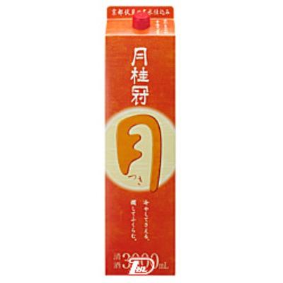 【2ケース】つき 月桂冠 3L(3000ml) パック 4本×2