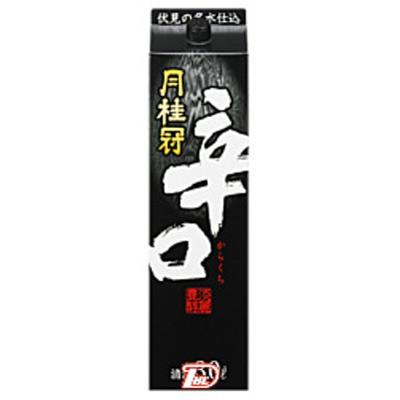 【2ケース】辛口 月桂冠 3L(3000ml) パック 4本入