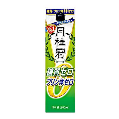 【2ケース】糖質0 超淡麗辛口 月桂冠 1.8L(1800ml) パック 6本×2