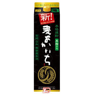 【2ケース】黒よかいち 〈麦〉 25度 宝酒造 1.8L(1800ml) パック 6本×2