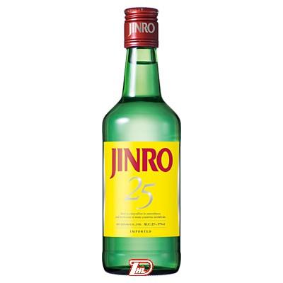 【1ケース】JINRO ジンロ 25度 眞露 375ml 24本入