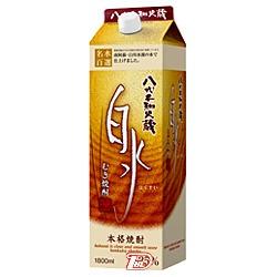 【2ケース】白水 〈麦〉 25度 メルシャン 1.8L(1800ml) パック 6本入×2