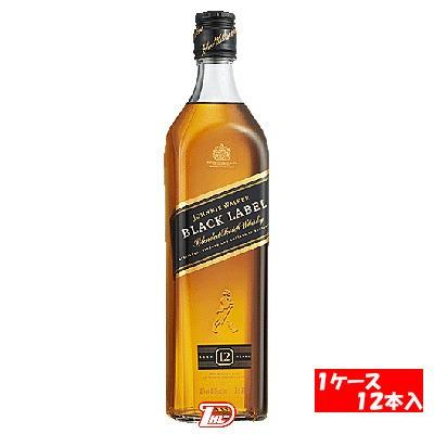 【1ケース】ジョニーウォーカー ブラック正規品 700ml 12本入(ケース売り)