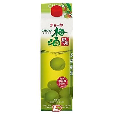 【2ケース】梅酒紀州 チョーヤ 1.0L(1000ml) パック 6本×2