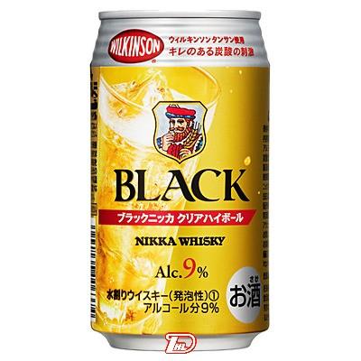 【3ケース】ブラックニッカ クリアハイボール アサヒ 350ml缶 24本×3
